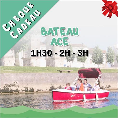 Chèque Cadeau Location Bateau électrique ACE