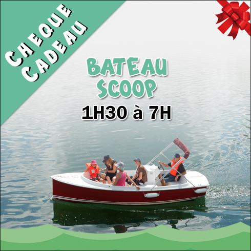Chèque Cadeau Location Bateau électrique SCOOP