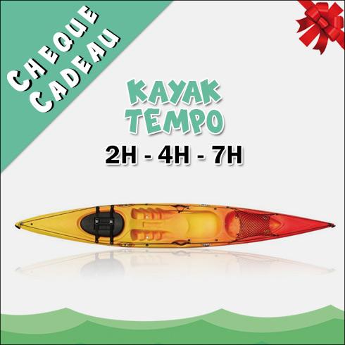 Chèque Cadeau Location Kayak Tempo